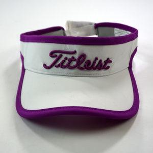 New Titleist Golf Visor Women's Adjustable OSFA
